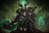 Loading Screen of the Abyssal Scourge