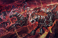 Charge of the Baleful Reign Loading Screen