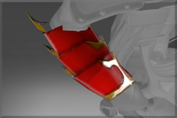 Cosmetic icon Vambrace of the Blazing Superiority.png