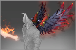 Cosmetic icon Wrath of the Fallen Back.png