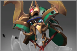 Cosmetic icon Helm of Dirgesworn Dynasty.png