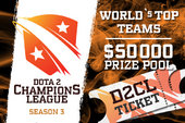 Dota 2 Champion's League Season 3 Ticket