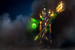 Cosmetic icon Garb of the Cunning Augur Loading Screen.png