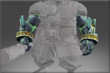 Vanquishing Demons Geomagnetic Arm Guard