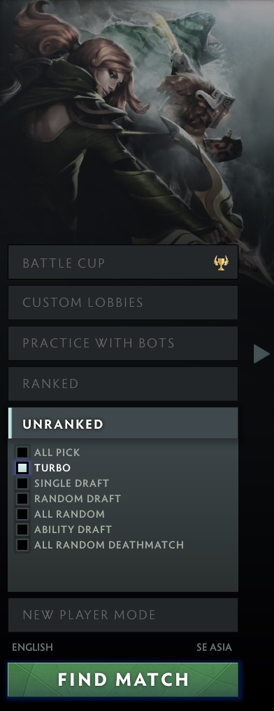 Ranked matchmaking dota 2 list