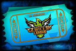 Cosmetic icon CZ-SK Dota 2 League Season 2 Ticket.png