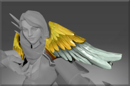 Cosmetic icon Gilded Falcon Wings.png