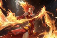 Загрузочный экран: Fiery Slayer