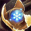 Golden Ice Blossom Arcane Aura icon.png