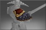 Ombreira da Armadura do Carneiro Beligerante (costas)