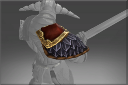 Cosmetic icon Armature of the Belligerent Ram Pauldron.png
