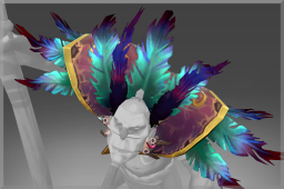 Cosmetic icon Feathered Mantle of the Arkturan Talon.png