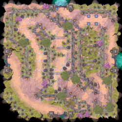 Minimap Aghanim's Labyrinth The Hallway of Pain.png