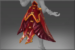 Cosmetic icon Gown of the Charred Bloodline.png
