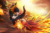 Loading Screen of the Fireflight Scion