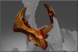 Cosmetic icon Shoulderblades of the Red Sand Warrior.png