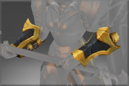 Cosmetic icon Arms of the Onyx Crucible Bracers.png