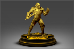 Cosmetic icon Golden Heroic Effigy of The International 2015.png