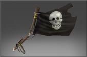 Pirate Slayer's Black Flag