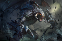 Cosmetic icon Roshan's Rage Loading Screen.png