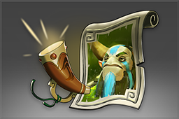 Cosmetic icon Nature's Prophet Announcer Pack.png