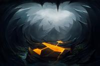 Загрузочный экран: Cave of the Burning Scale
