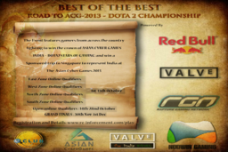 Cosmetic icon Road to the Asian Cyber Games 2013 - Indian Qualifier.png
