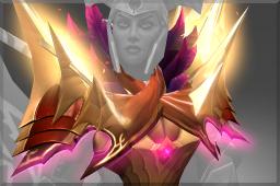 Cosmetic icon Radiant Conqueror Shoulder.png