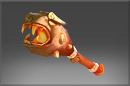 Cosmetic icon Flaming Scepter of Ancestral Luck.png