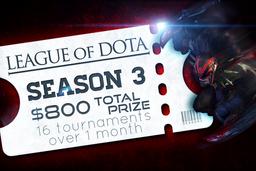 Cosmetic icon League of Dota Season 3 Ticket.png