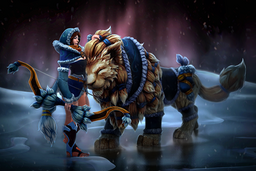 Cosmetic icon Snowstorm Huntress Loading Screen.png
