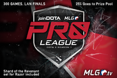 joinDOTA MLG Pro League Season 1 Ticket