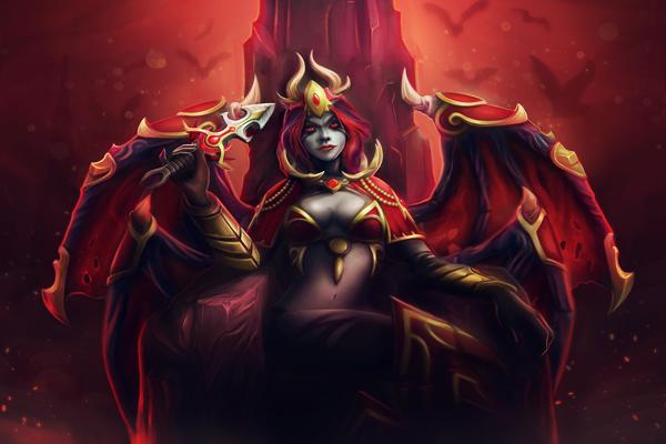 queen of pain equipment dota 2 wiki