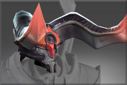 Cosmetic icon Steel Horns of Apocalyptic Fire.png