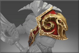 Cosmetic icon Armature of the Belligerent Ram Shoulder.png