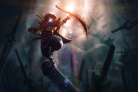 Balance of the Bladekeeper Loading Screen