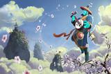Blossoming Harmony Loading Screen