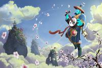 Загрузочный экран: Blossoming Harmony