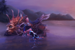 Cosmetic icon Heiress of the Coastal Kingdom Loading Screen.png