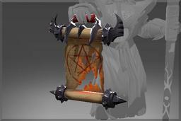 Cosmetic icon Warlock's Summoning Scroll.png