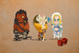 Cosmetic icon Three Heroes Loading Screen.png