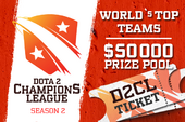 Dota 2 Champion's League Season 2 (Ticket)