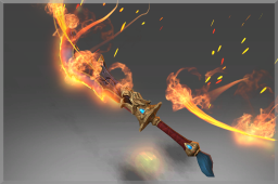 Cosmetic icon Sword of the Smoldering Sage.png