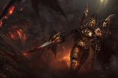 Daemonfell Flame Loading Screen