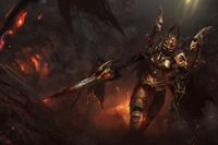 Daemonfell Flame Loading Screen