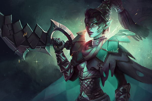 Dota 2 Wiki: Dame De Carreau Loading Screen