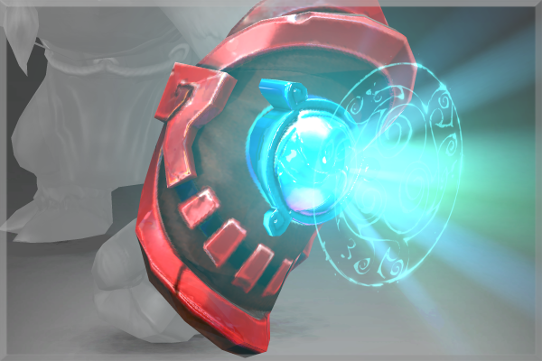 Dota 2 Mod Gravelmaw Deep Magma Immortal Items: Bracers Of The Cavern Luminar