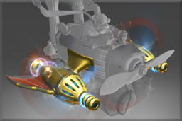 Cosmetic icon Golden Atomic Ray Thrusters.png