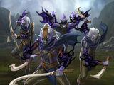 Shadow Elf Invaders (War Raid)