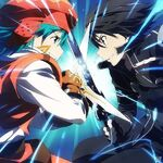 Kite and Kirito New World and Sword Art Online Code Register Crossover 2